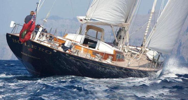 Sailing Yacht Bolero For Sale With Edmiston New For Sale Classic Sailing Vessels