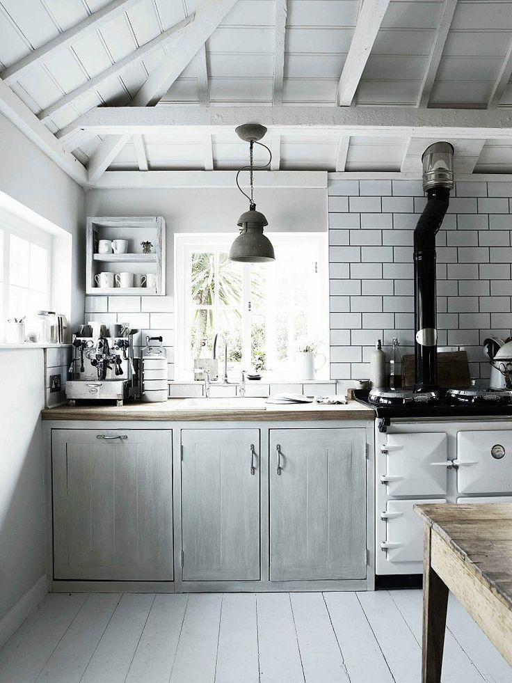 Scandinavian Kitchen Rustic Homey Design Decor White