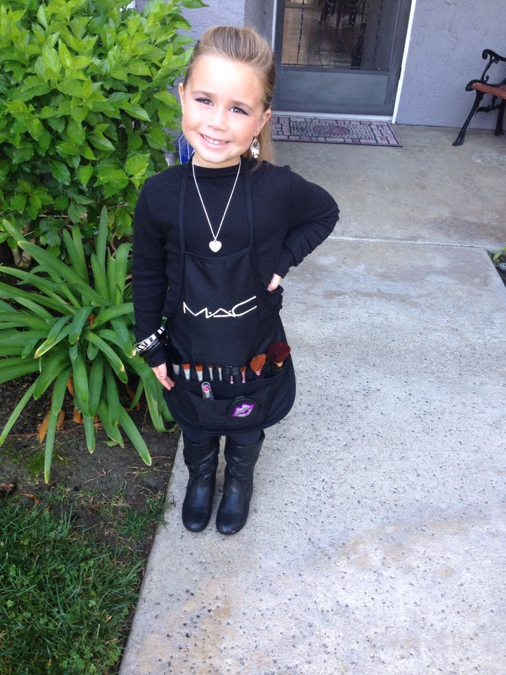 Halloween Costume Mac Girl Make up Artist CostumesBoo Y