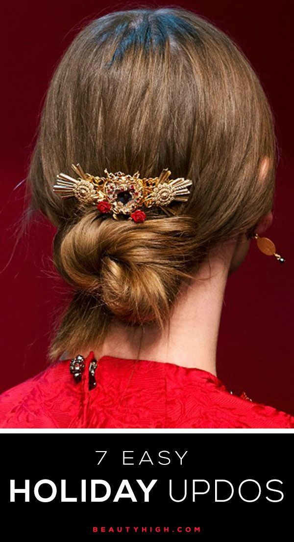 1000 images about Holiday Hairstyles  on Pinterest