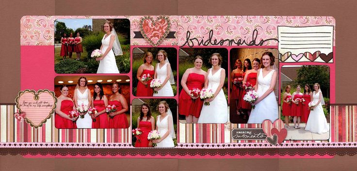 258 Best Images About Wedding Scrapbooking Layouts On