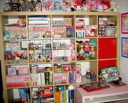 Anime Bedroom Ideas On How Do Organize All My Manga Gaming Art Stuff Otakuroom Pinterest And Bedrooms