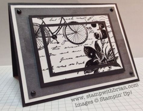 Postage Due, Stampin Up!, Brian King