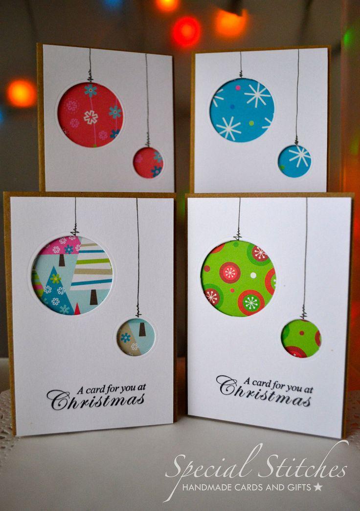Christmas Cards Pack Of 20 Handmade Aperture Christmas