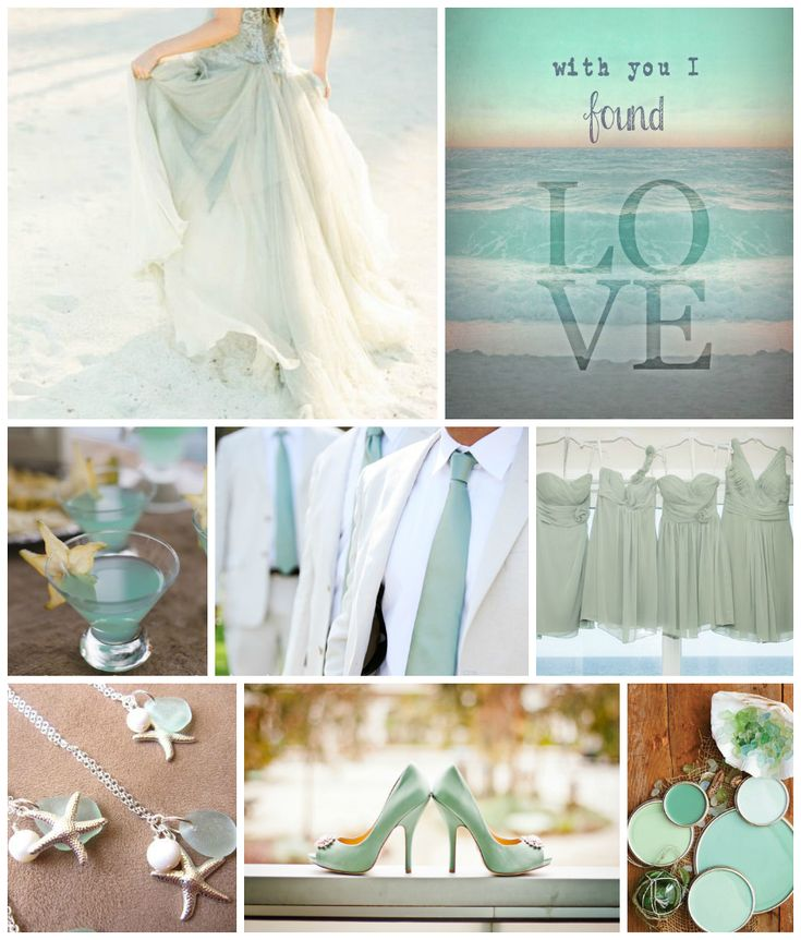Indulge In The Casual Cool Of Seafoam Green For An Epic Beach Wedding Inspiration Station