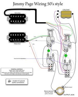 Jimmy Page 50s Wiring  MyLesPaul   Instruments