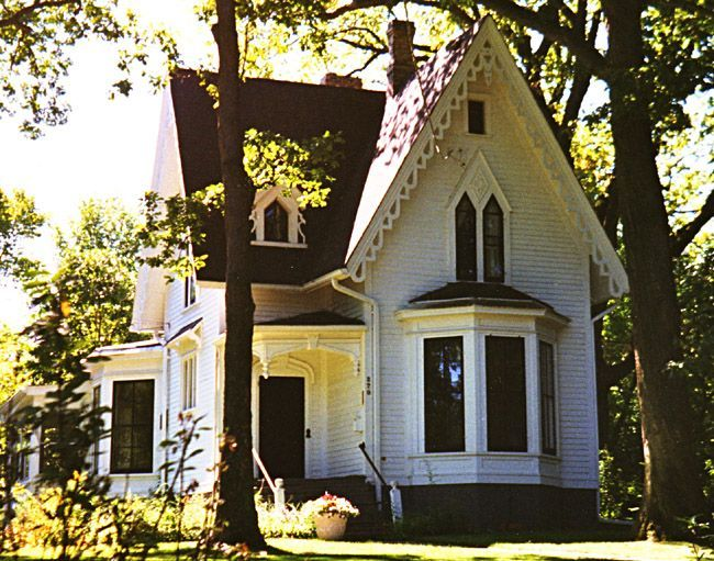 17 Best Images About Old Houses: Gothic Revival On