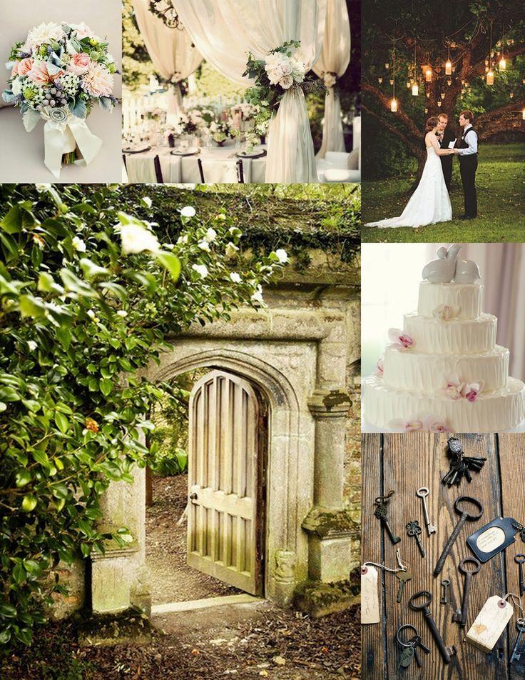 secret garden wedding theme Inspiration Bride , Table