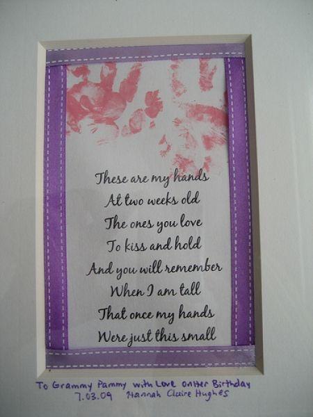 Mother S Day Crafts Handprint Poem KindergartenWorks