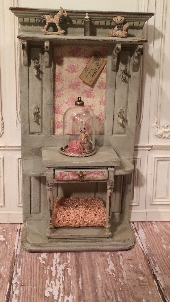 1 12th Scale Dollhouse Nursery Furniture On Etsy 125 00