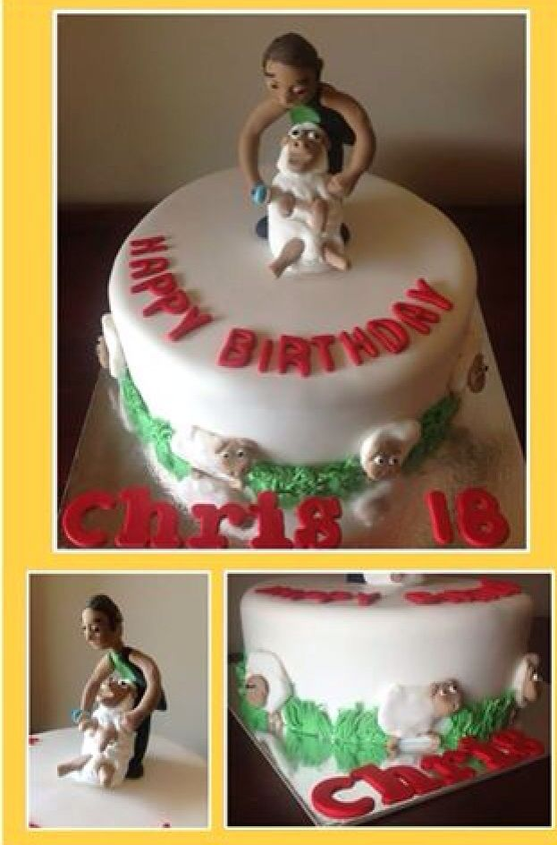 Shearer Sheep Shearing Men S Birthday Cake The Quirky