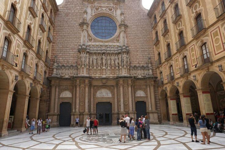 Basilica De Montserrat Spain 15 Pinterest D And