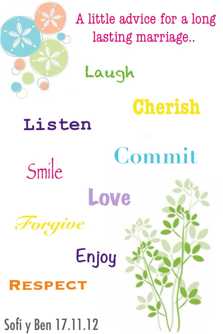 Happy Marriage Advice Quotes My Creations Pinterest