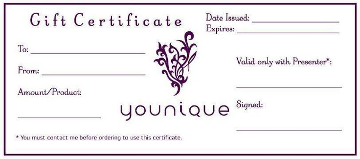 Gift certificates available contact me for more