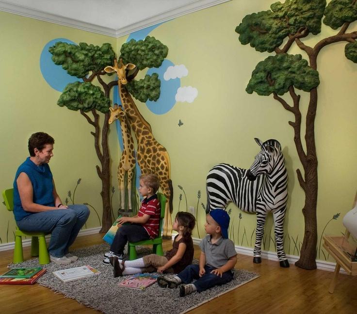 Safari 3D Wall Décor by Beetling Design Jungle Theme