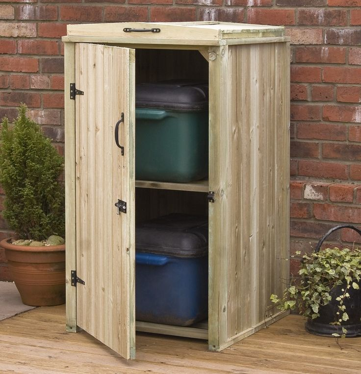 IKEA Storage simple DIY wood outdoor storage