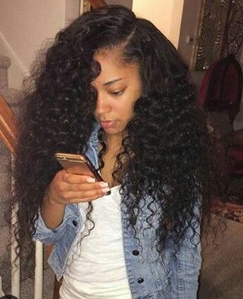 25 best ideas about curly sew in on pinterest woman hair wavy weave and beautiful black hair