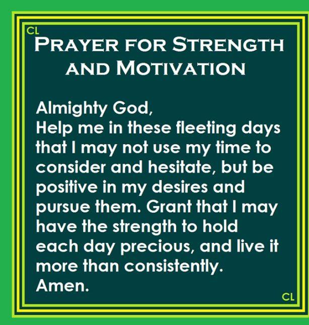 Comfort Strength Prayers My Family And