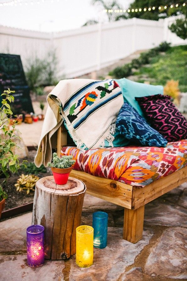 Bohemian outdoor inspiration - One Hand in my Pocket