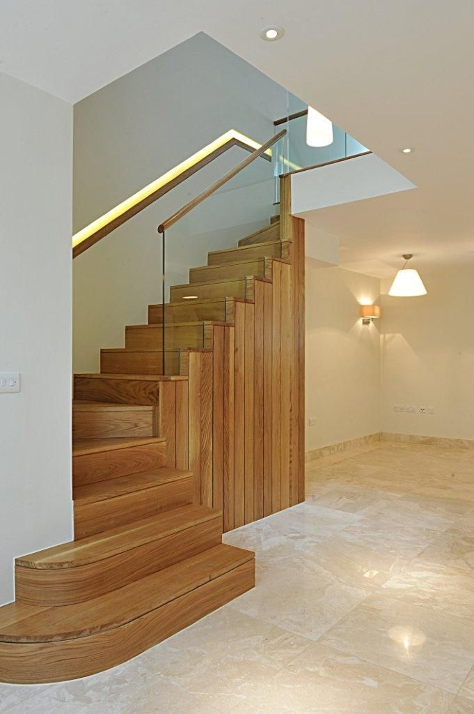 60 Best Oak Staircases Bespoke Staircases Images On | Stairs With Glass Sides