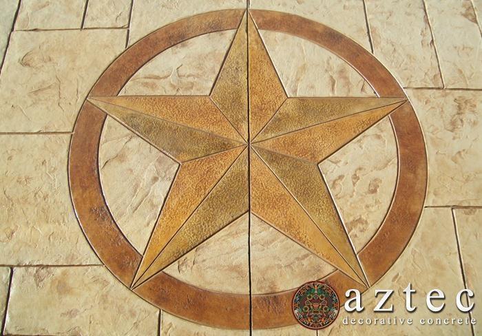 Aztec Decorative Concrete Just because Pinterest