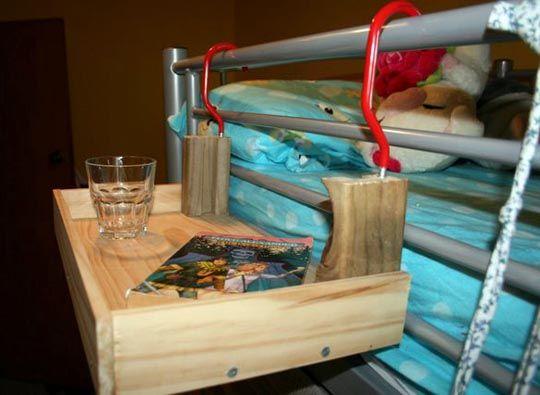 Bunk Bed Bedside Table Novocom Top