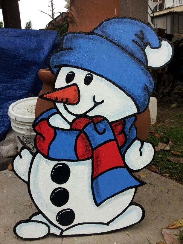 Peanuts Christmas Yard Cutouts