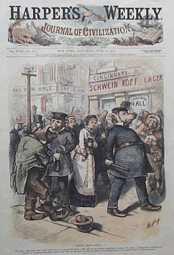 114 Best Images About Cartoonist Thomas Nast 1840 1902