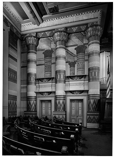 Egyptian Revival Interior Downtown Presbyterian Church