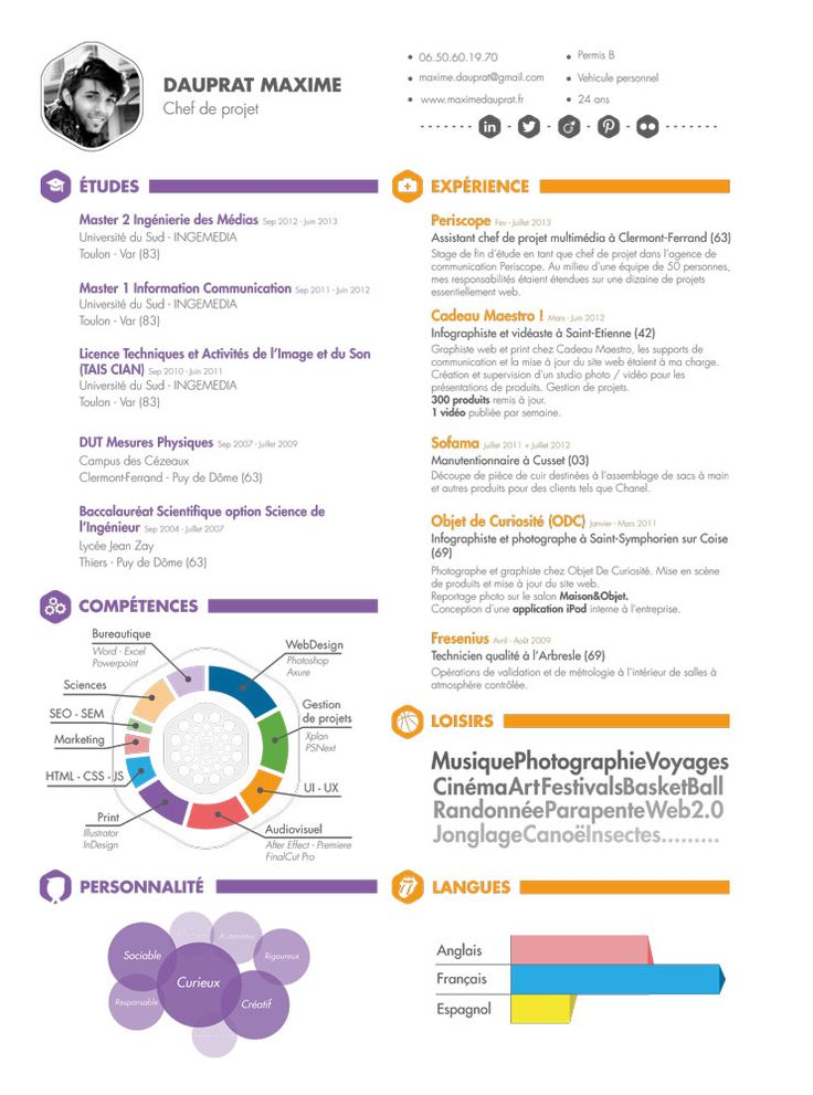 project manager resume web project and resume on pinterest