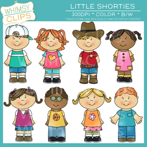 Cute kids clip art pack. Premium high resolution clip