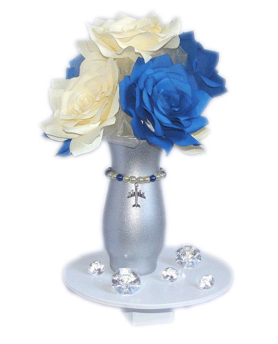 1000 Ideas About Navy Wedding Centerpieces On Pinterest