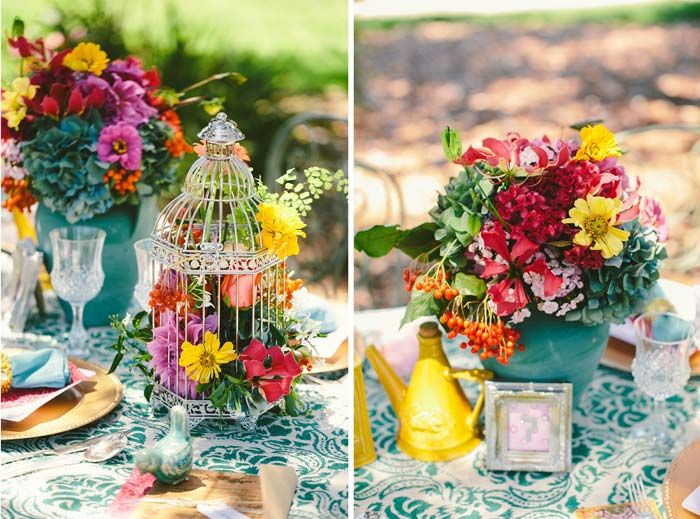 Colourful Table Settings Loris Decoration & colorful table decorations | Decoration For Home