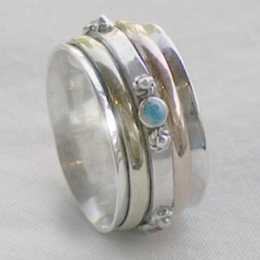 Pia Meditation Ring From Cahoia Meditation Rings