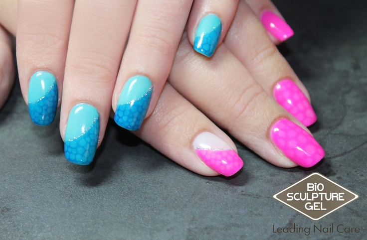 Bio Sculpture Gel Nail Art Ask For It Nails