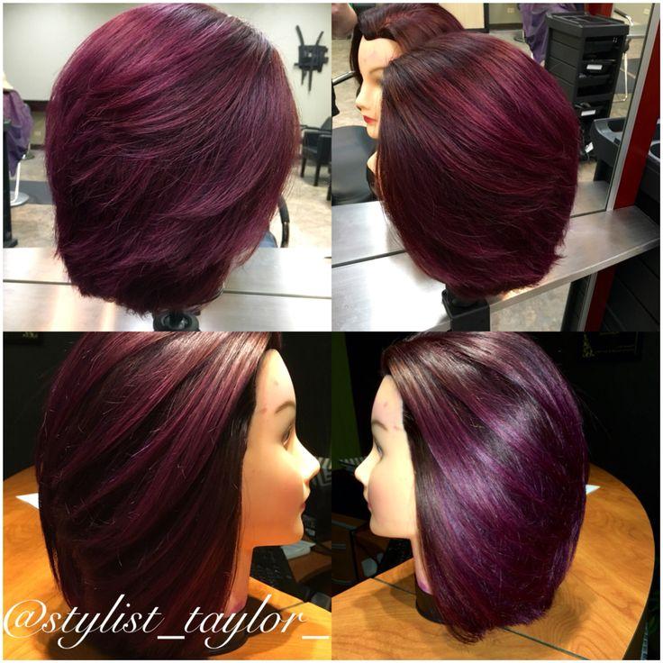 Blackberry Wine Dimensional Purple Violet Red