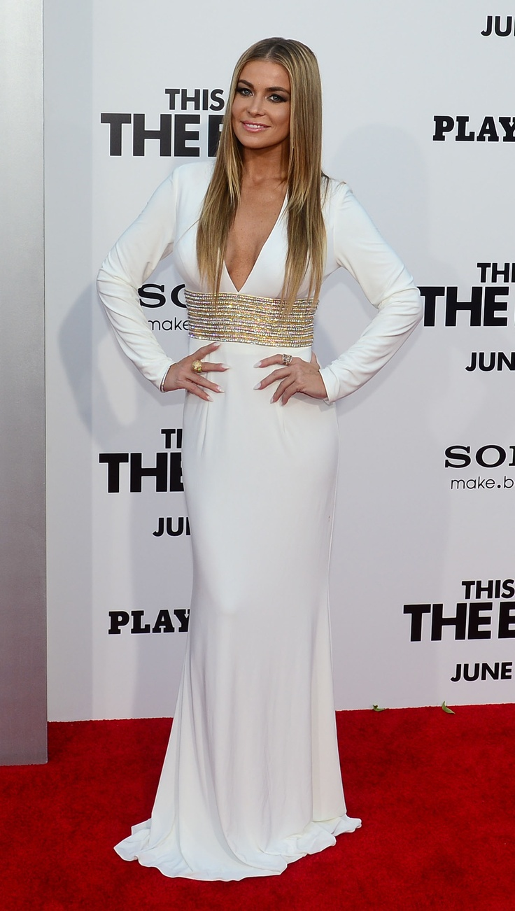 Carmen Electra wore style 1580 on the red carpet of the
