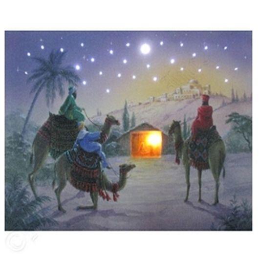 Mr Christmas 8x 10 Illuminart LED Lighted Christmas