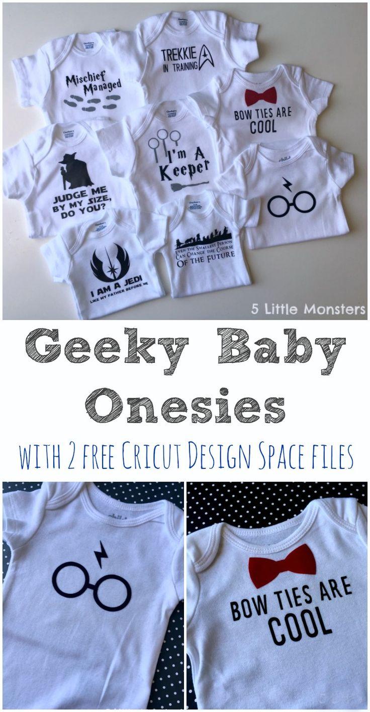 5 Little Monsters Geeky Baby Onesie Ideas Plus 2 Free