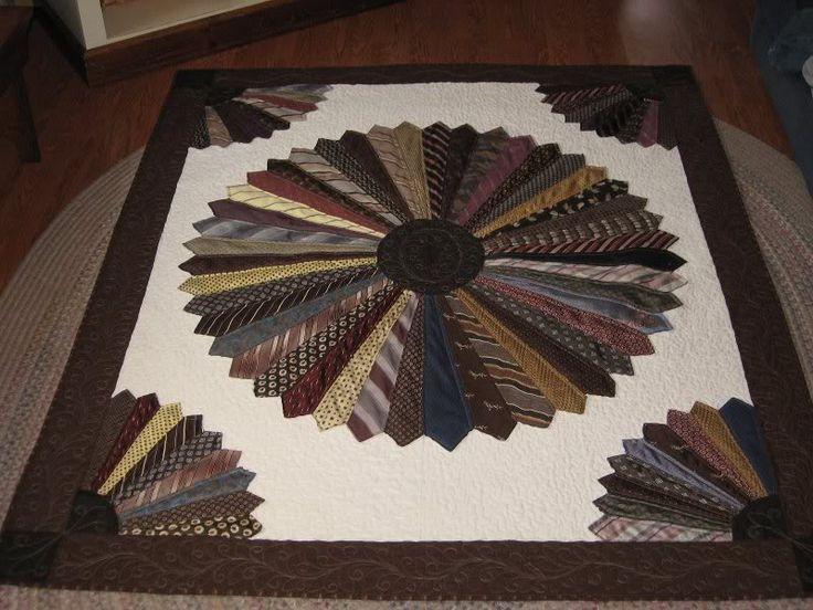 25 Best Ideas About Necktie Quilt On Pinterest Tie