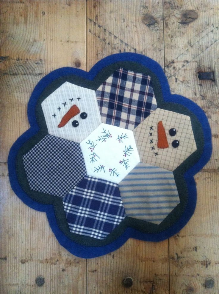 This is so dang cute! And, Hen & Chicks Studio can teach you to stitch hexagons.