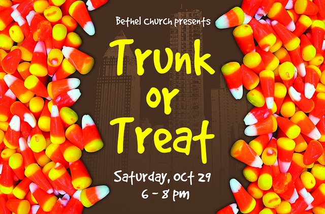 """20091012 """"Trunk or Treat"""" 4' x 8' Sign by colincollect"""