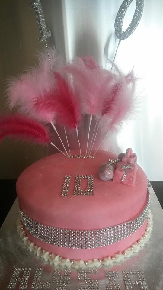 Birthday Cake For 10 Year Old Who Likes Bling Cake