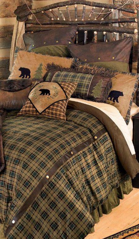 Alpine Bear Bedding Cabin Someday Pinterest Guest