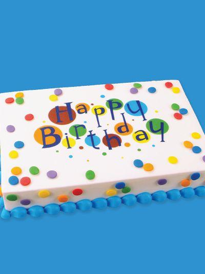 Best 25 Birthday Sheet Cakes Ideas On Pinterest Sheet
