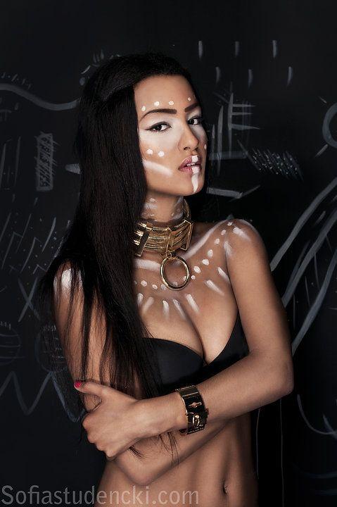 Model & Makeup: Olivia Mbatha — Set Designer: Drazen Kuljanin