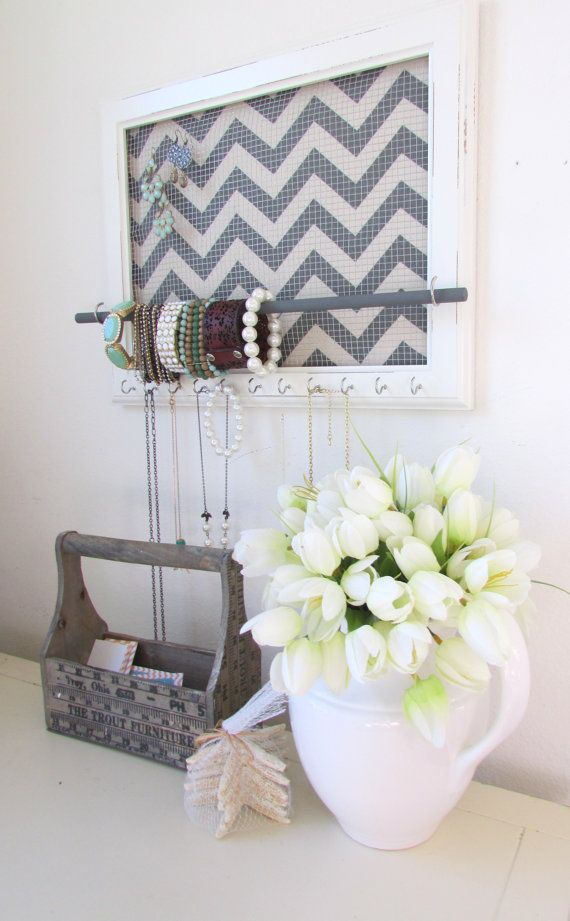 Diy Picture Frame Jewelry Holder | Frameswall.co