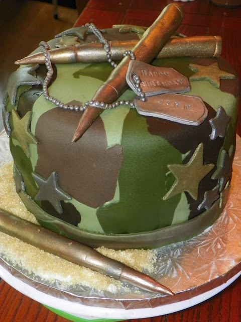 Army Birthday Cake I think this is probably the coolest