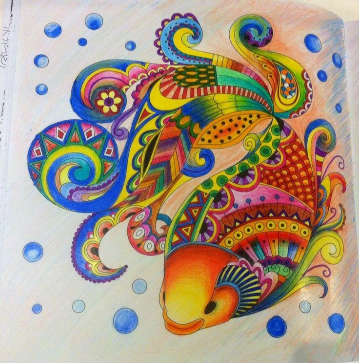 17 Best Images About UNDERWATER COLORED PENCILS On