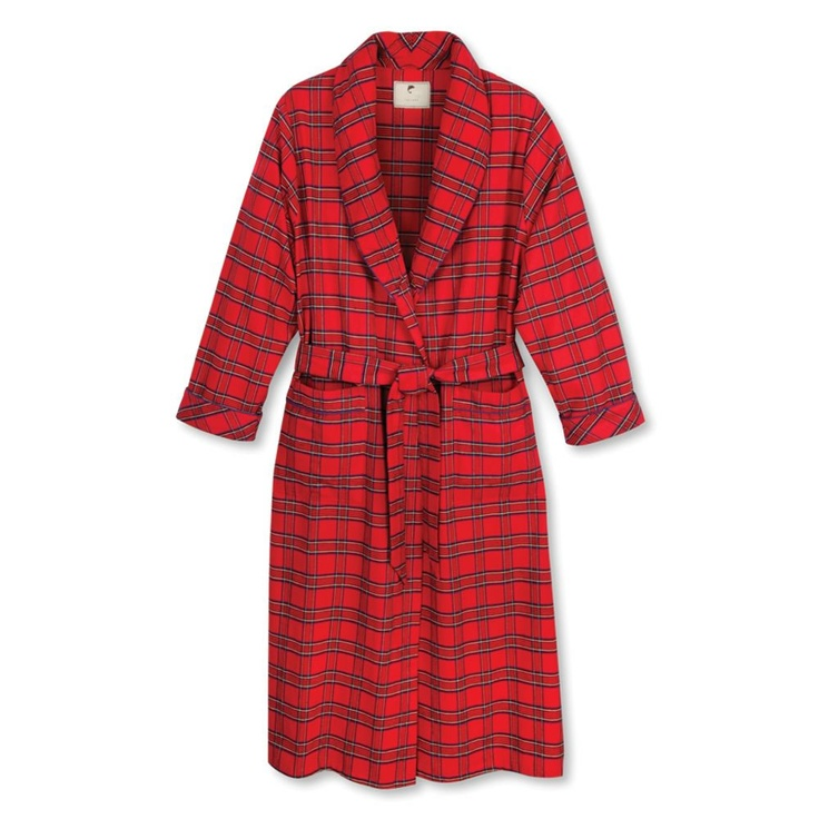 The Genuine Irish Flannel Robe Made in Cork, Ireland